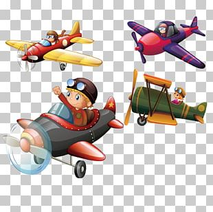 Airplane Aircraft Flight Illustration PNG
