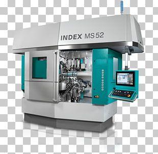 Lathe Spindle Machine Tool Machining Index-Werke PNG