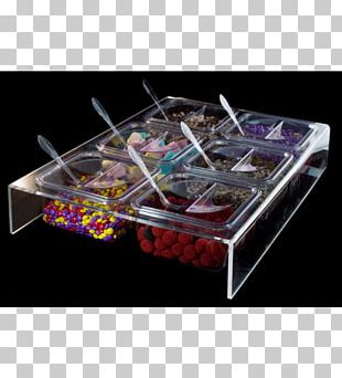 Ice Cream Plastic Self-service Buffet Packaging And Labeling PNG