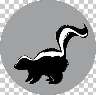 Raccoon Silhouette American Mink Duck Skunk PNG