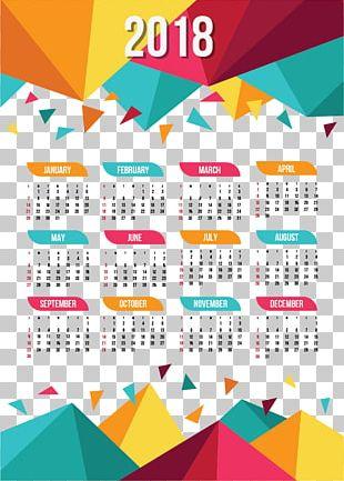 Calendar New Year PNG