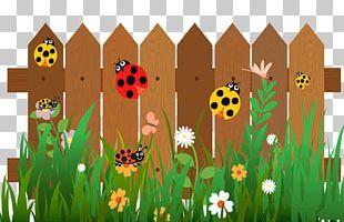 Fence Cartoon Ladybird PNG