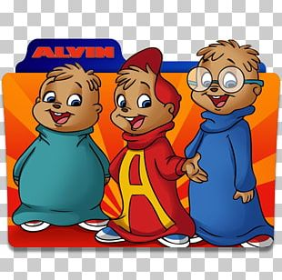 Alvin And The Chipmunks Theodore Seville Animated Cartoon Animated Series PNG