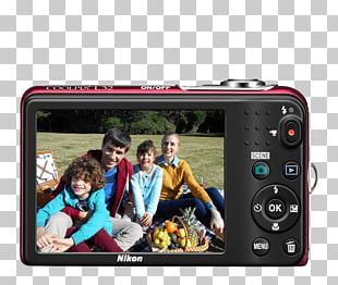 Camera Lens Point-and-shoot Camera Electronics Nikon PNG