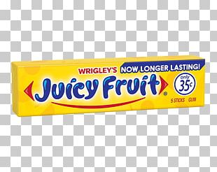 Chewing Gum Juice Juicy Fruit Wrigley Company 0 PNG
