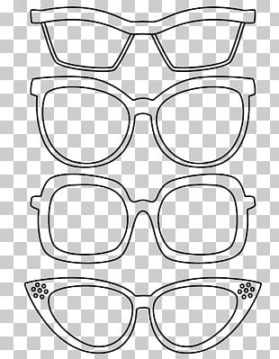 Coloring Book Glasses Drawing Child PNG