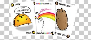Exploding Kittens Card Game Board Game Set PNG