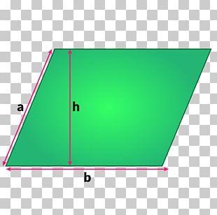 Area Triangle Parallelogram Formula Perimeter PNG