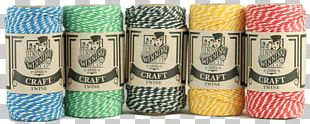 Twine Craft Thread Gift Wrapping Cotton PNG