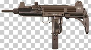 Uzi Submachine Gun Israel Weapon Industries Firearm PNG