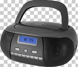 CD-R Boombox CD Player Compact Disc Radio PNG