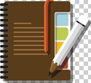 Notebook Pencil PNG