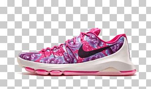 Sports Shoes Nike Kd 8 Prm Shoes Vivid Pink // Black 819148 603 Basketball Shoe PNG