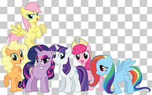 Rarity Applejack Pinkie Pie Pony Rainbow Dash PNG