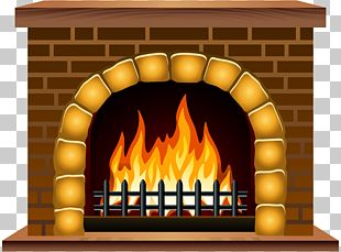 Fireplace Mantel Hearth PNG