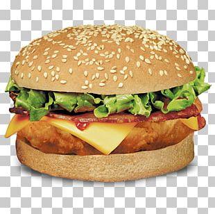 Hamburger Cheeseburger Chicken Sandwich Veggie Burger Bacon PNG