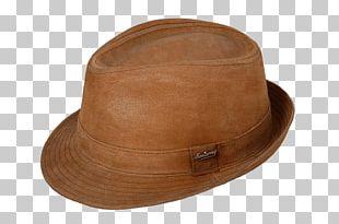 Hat Caramel Color Brown PNG