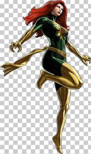 Marvel: Avengers Alliance Jean Grey Black Widow X-23 Hulk PNG