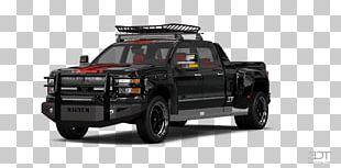Tire Car Bumper Truck Bed Part Pickup Truck PNG
