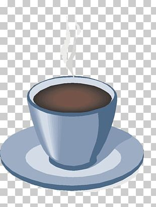 White Coffee Tea Ristretto Coffee Cup PNG