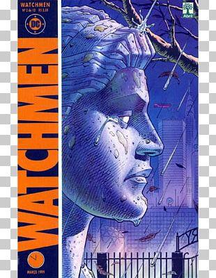 Watchmen: The End Is Nigh Edward Blake Watching The Watchmen Comic Book PNG