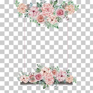 Wedding Invitation Flower PNG