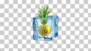 Ice Cream Fruit Salad Ice Cube PNG