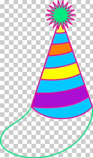 Party Hat Birthday Cake PNG