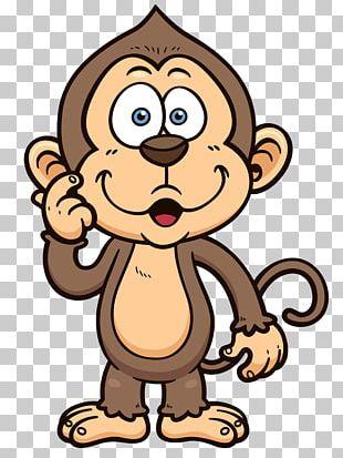 T-shirt Monkey Drawing Cartoon PNG