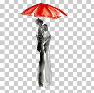 Watercolor Painting Umbrella Contemporary Art Drawing PNG