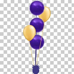 Violet Purple Balloon PNG
