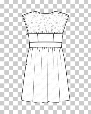 Fashion Design Cocktail Dress Clothing Pattern PNG