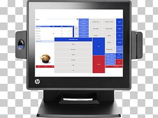 Hewlett-Packard Point Of Sale HP RP7 Retail System 7800 HP RP7 Retail System PNG
