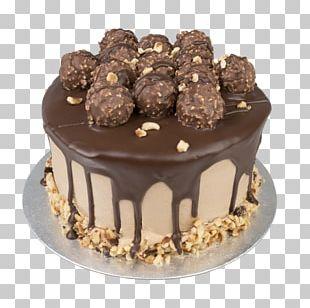 Chocolate Truffle Praline Chocolate Cake Ganache Petit Four PNG
