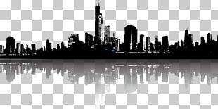 Cityscape Skyline Illustration PNG