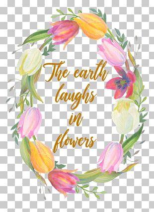 Floral Design Flower Wedding Invitation Villa Song Saigon Wreath PNG