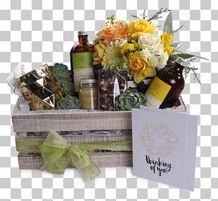 Food Gift Baskets Floral Design Hamper Cut Flowers PNG