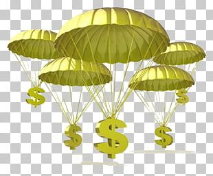 Golden Parachute Stock Photography Illustration PNG