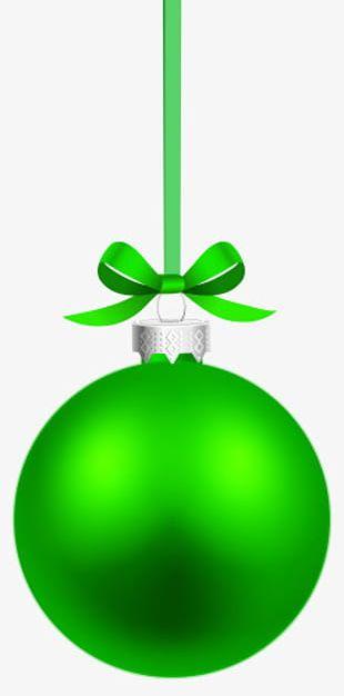 Silver Christmas Balls Bow PNG