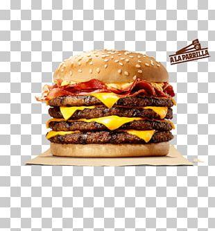 Whopper Hamburger Cheeseburger Bacon Barbecue PNG