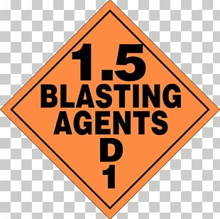 Dangerous Goods Placard Drilling And Blasting Combustibility And Flammability HAZMAT Class 3 Flammable Liquids PNG