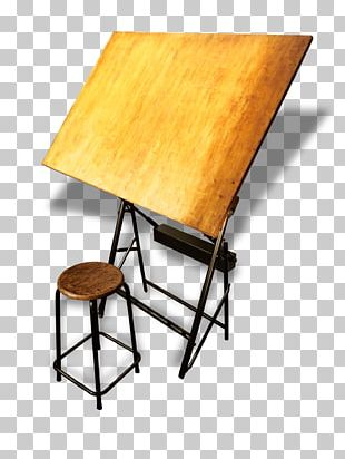 Table Architecture Drawing Board Architectural Drawing PNG