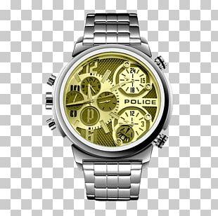 Watch Quartz Clock Police Chronograph PNG