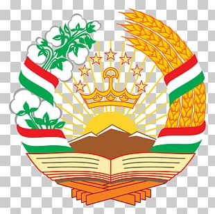 Emblem Of Tajikistan Tajik Soviet Socialist Republic Flag Of Tajikistan Soviet Union PNG