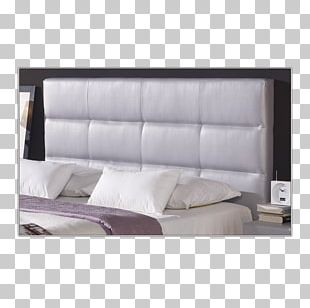Headboard Bed Frame Couch Mattress PNG