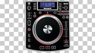 Numark Industries DJ Controller Disc Jockey Audio Compact Disc PNG