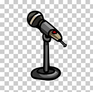 Microphone Stands Club Penguin PNG