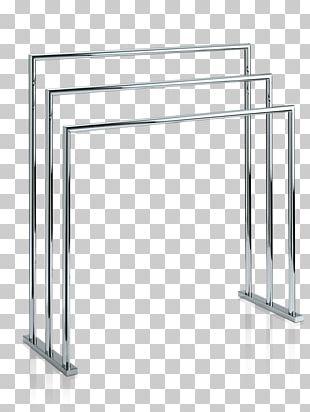 Heated Towel Rail Bathroom Stainless Steel Furniture PNG