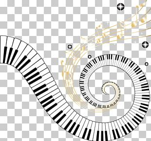 Piano Keyboard Musical Note PNG