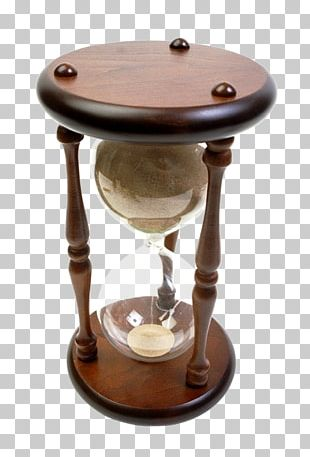 Hourglass Clock Icon PNG